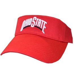 Ohio State University Red Visor