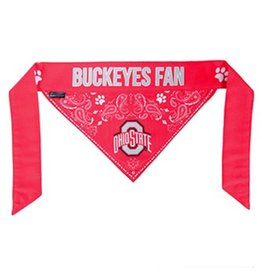Ohio State University Hanky Pet Bandana