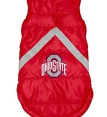 Ohio State University Pet Puffer Vest