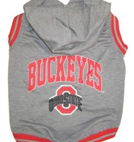 Ohio State University Pet Hoodie Tee Shirt