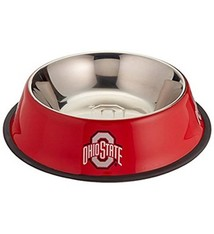 Ohio State University Stainless Steel Pet Bowl