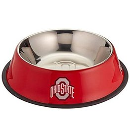Ohio State University Stainless Steel Pet Bowl