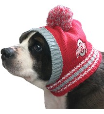 Ohio State University Pet Knit Hat