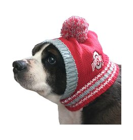 Ohio State University Pet Knit Hat