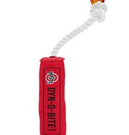 Ohio State University Dyn-O-Bite Dog Toy