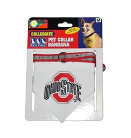 Ohio State University Bandana Collar