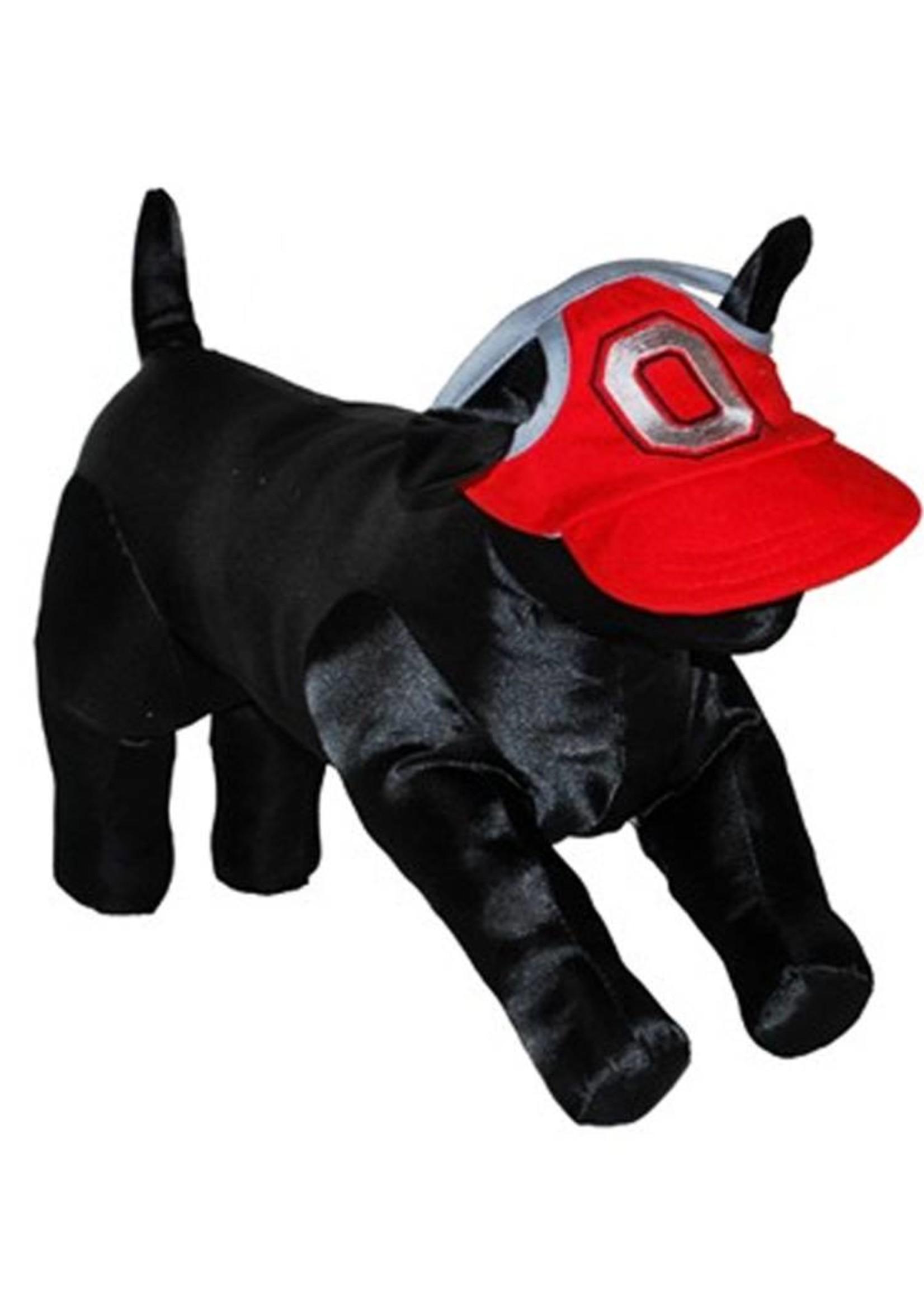 Ohio State University Collegiate Block O Pet Cap