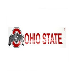 "Ohio State University ""Athletic O Ohio State"" Bumper Sticker"