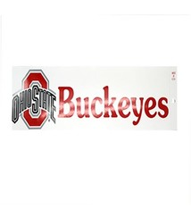 Ohio State University Athletic O Buckeyes Bumper Sticker