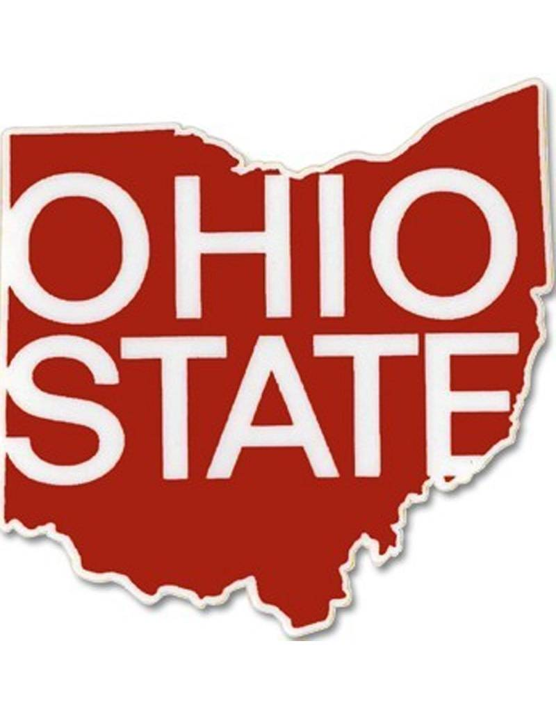 Ohio State Athletic O State Outline ColorShock® Decal