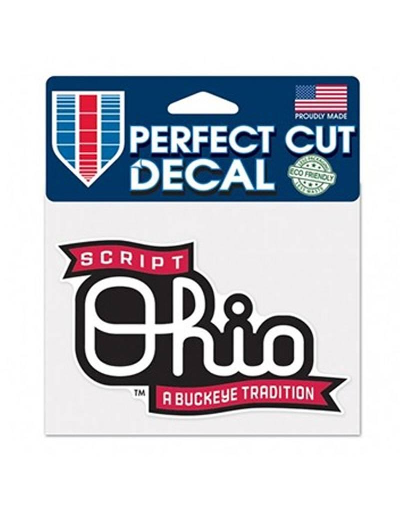 Wincraft Ohio State University 4x5 Script Ohio Decal