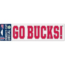 "Wincraft Ohio State University Go Bucks 3""x10"" Decal"