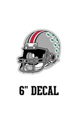 "Ohio State University 6"" Helmet Decal"