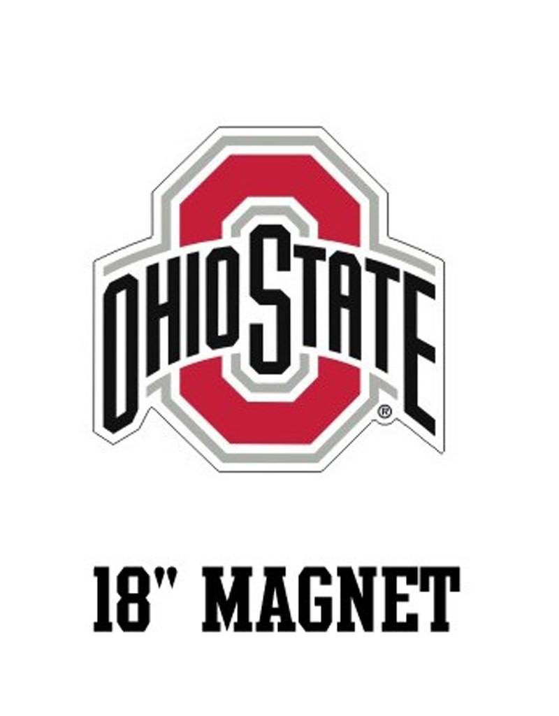 """Ohio State University Athletic O 18"""" Magnet"""