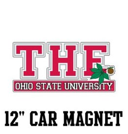 "The Ohio State University 12"" Car Magnet"