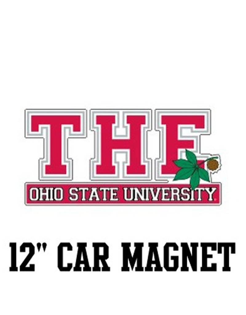 "The Ohio State University 12"" Car Magnet"