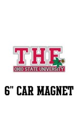 "The Ohio State University 6"" Car Magnet"