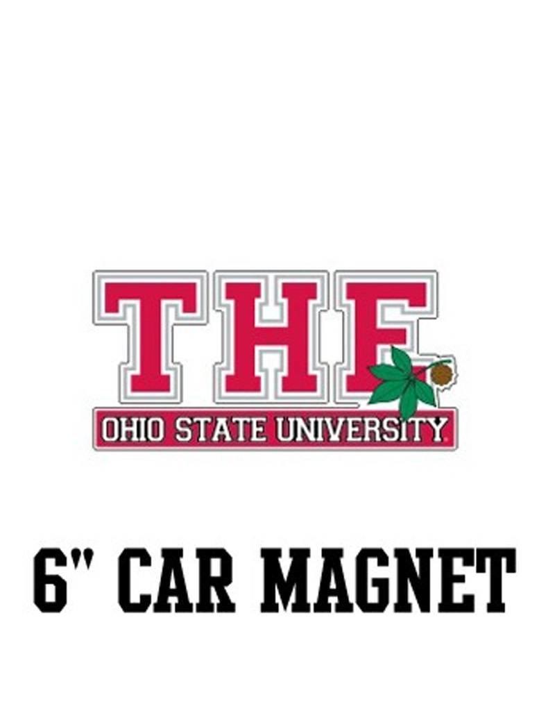 "The Ohio State University 6"" Car Magnet"