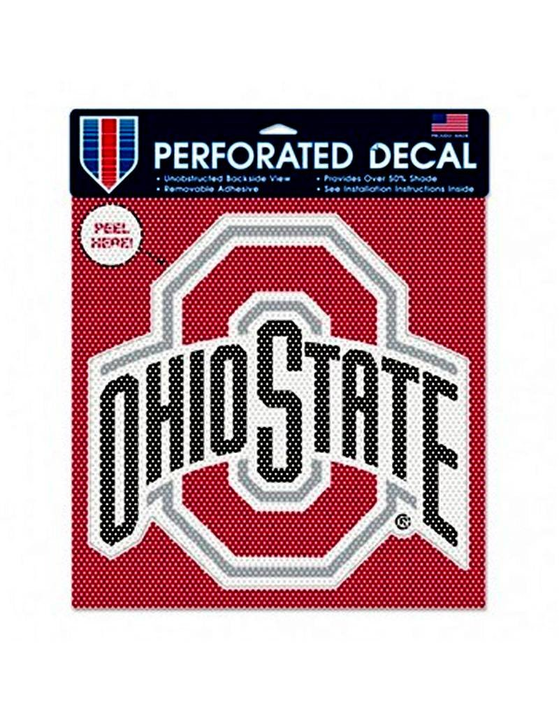 "Wincraft Ohio State University 11"" Perforated Decal"