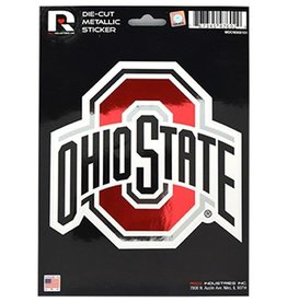 Ohio State University Metallic Decal
