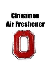 Ohio State University Cinnamon Block O Air Freshener