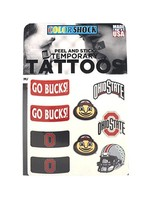 Ohio State Buckeyes Peel and Stick Tattoos