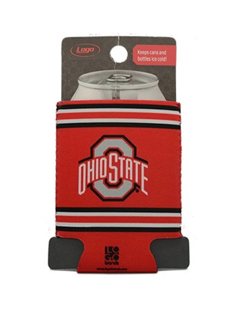 Ohio State University Flat Can Koozie
