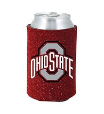 Ohio State University Glitter Can Koozie