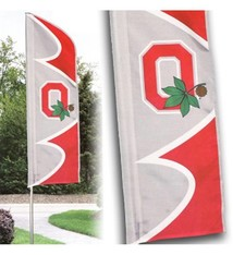 Ohio State 6 ft. Swooper Flag Kit