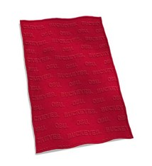 Ohio State University Velvet Plush Blanket