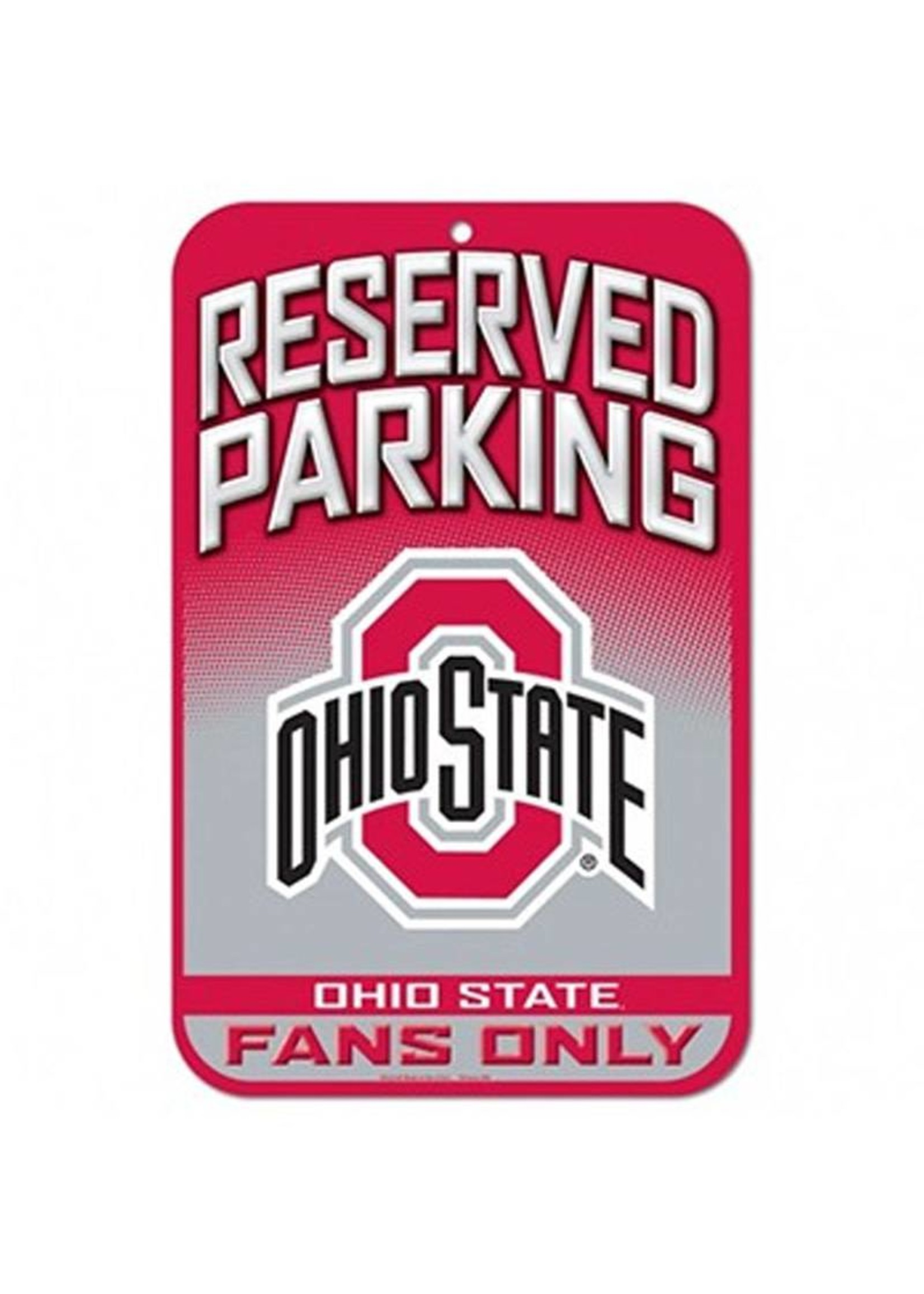 Wincraft Ohio State University Reserved Parking Sign