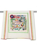 Catstudio State of Ohio Dish Towel