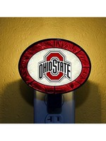 Ohio State University Art Glass Nightlight