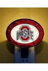 Ohio State University Art Glass Nightlight