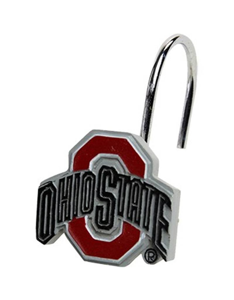 Ohio State University Shower Curtain Hooks