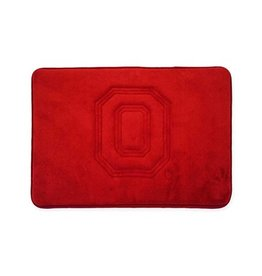 Ohio State University Memory Foam Bathroom Mat