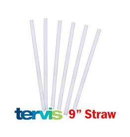 Tervis Tervis 9 inch straws - Pack of 6