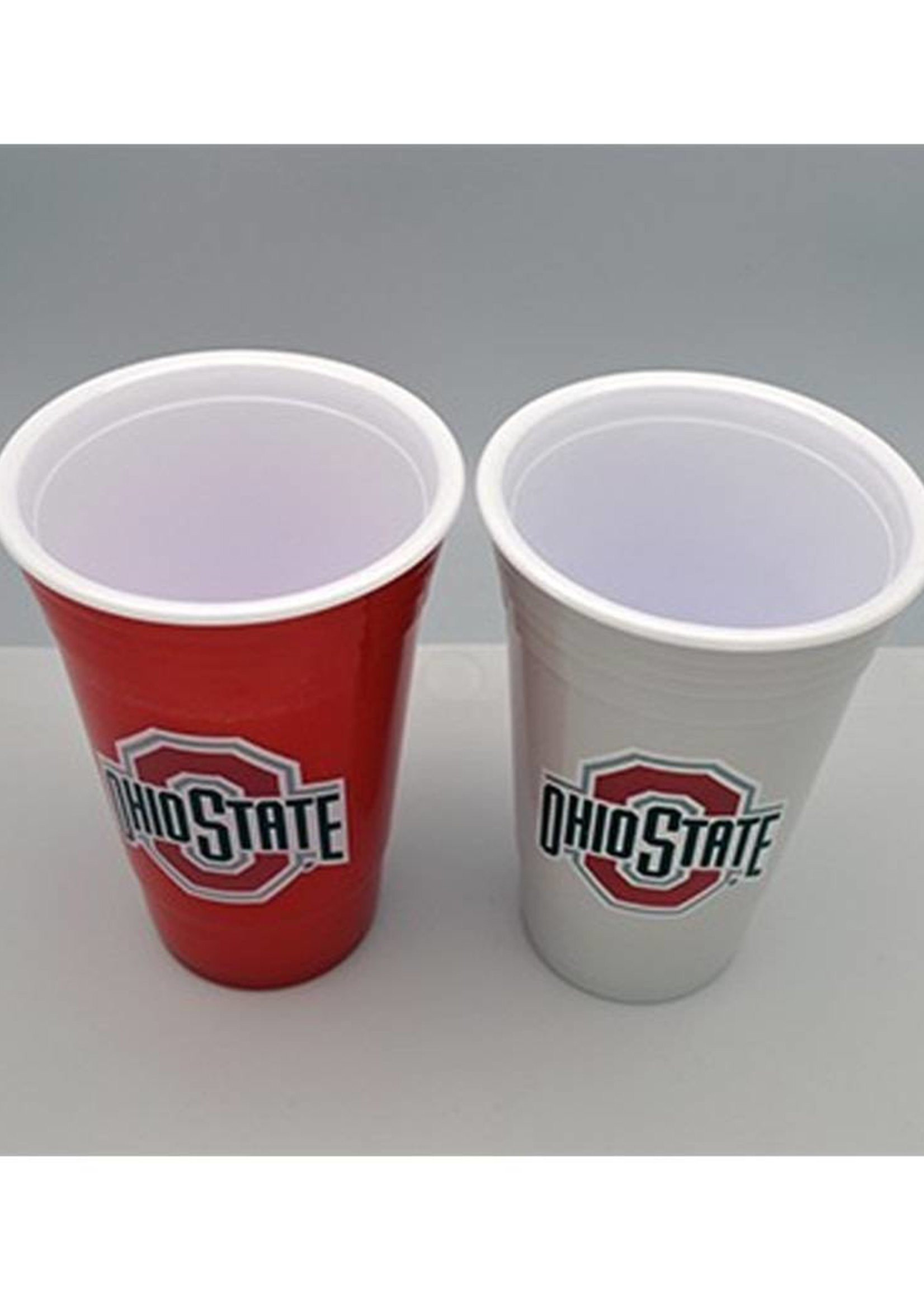 Ohio State University 2 Pack Home/Away Plastic Cup Set