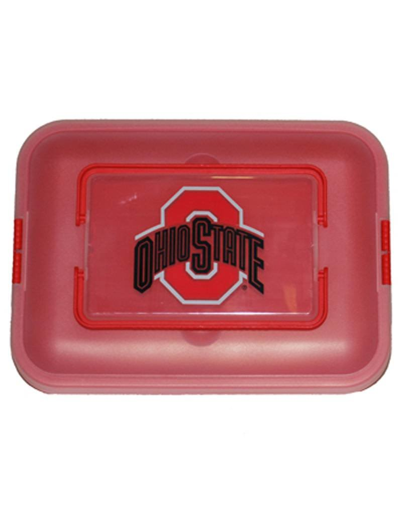 Ohio State University Athletic O Rectangle Cupcake Container