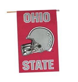 Ohio State University Two-Sided Football Helmet Flag