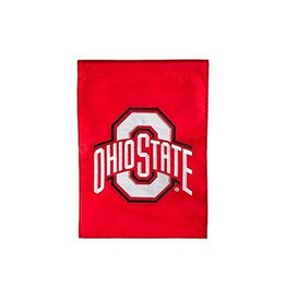Ohio State University Athletic O Garden Flag