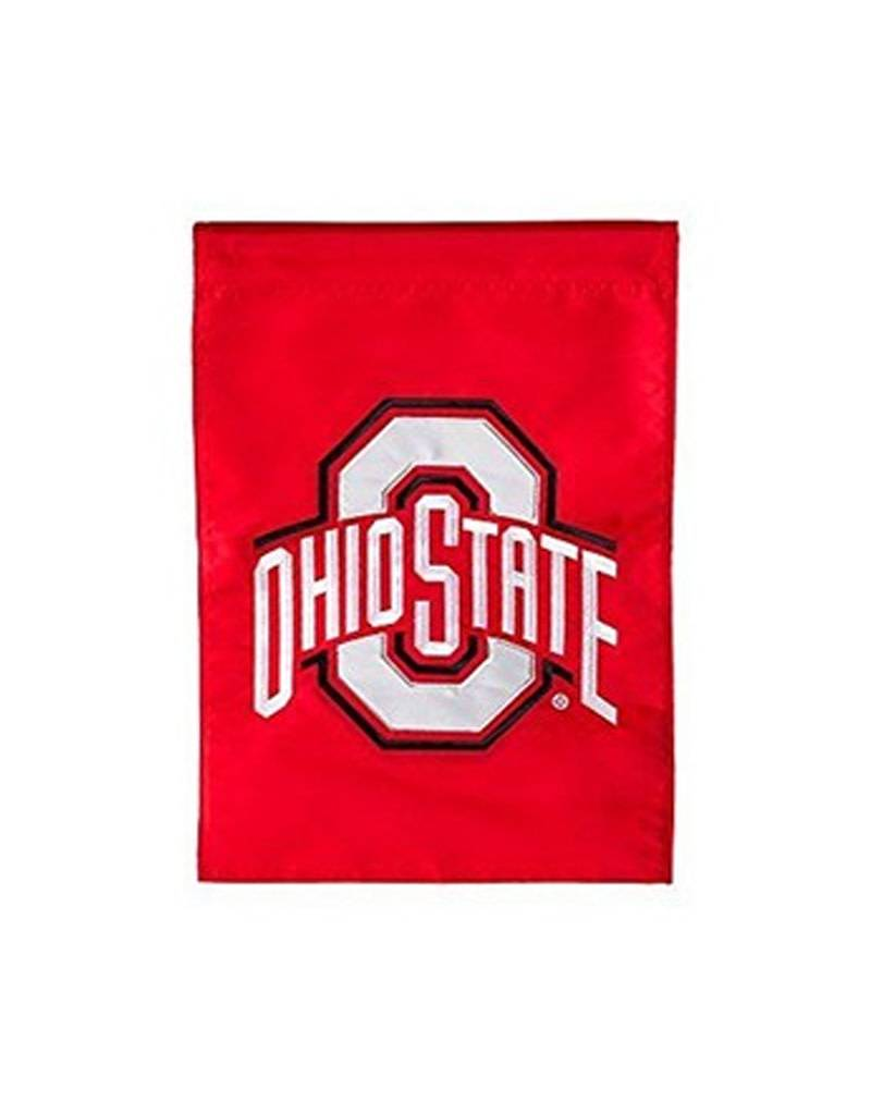Ohio State University Athletic O Garden Flag