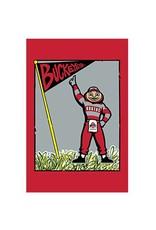 Ohio State University Brutus Garden Flag