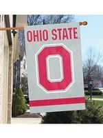Ohio State University Two-Sided Block O Flag