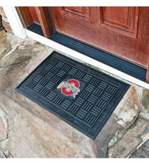 Ohio State Buckeyes Rubber Door Mat