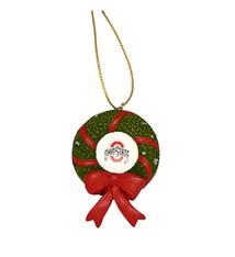 Ohio State University Wreath Ornament