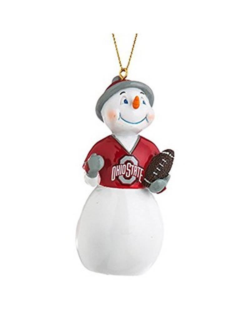 Ohio State University Jack Frost Snowman Ornament