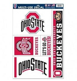 Wincraft Ohio State University 11x17 Multi Use Decals