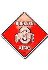 Ohio State University Buckeye Crossing Sign