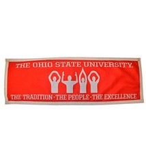 Ohio State University O-H-I-O Banner